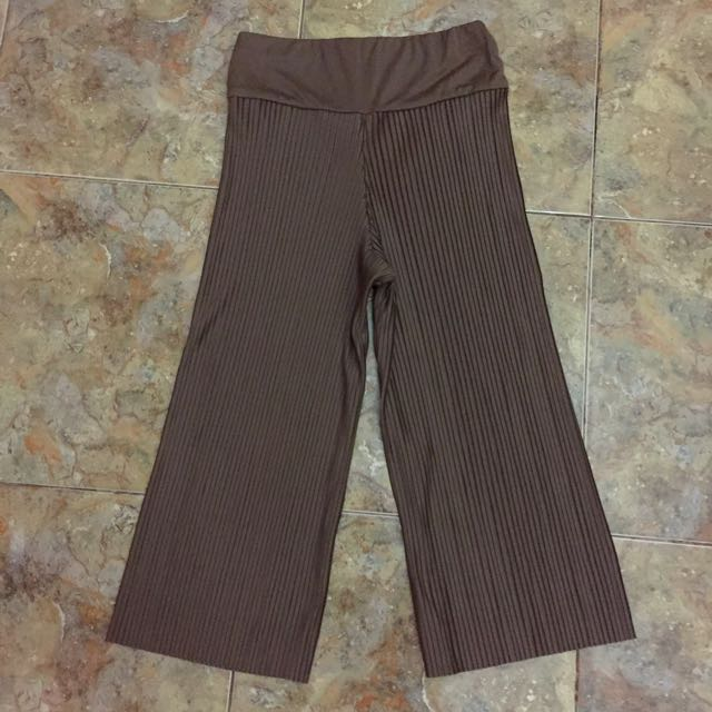PLEATED CULLOTES - Mocca (All Size)