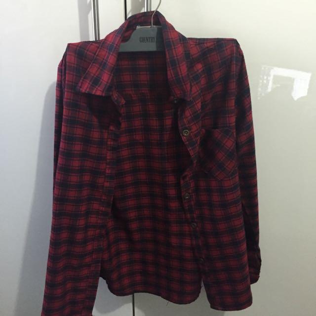 Red Caro shirt