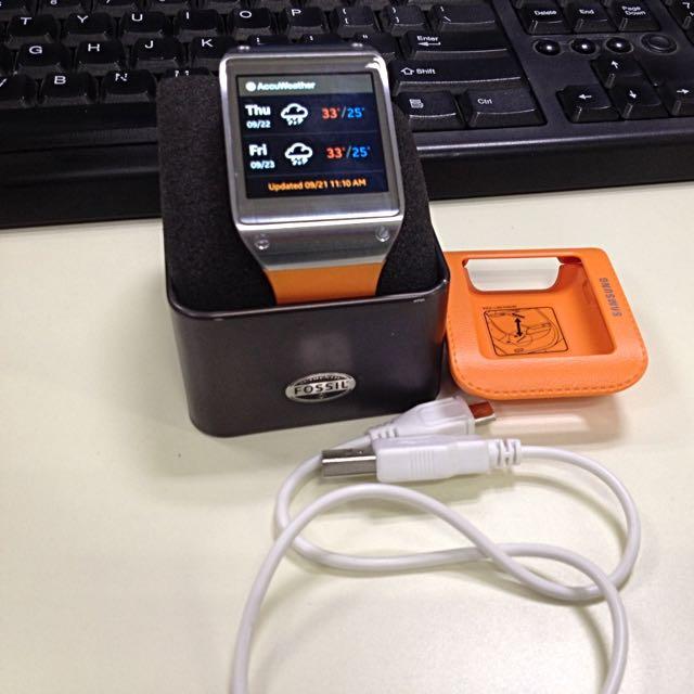 Samsung Galaxy Gear SM-V700 Wild Orange