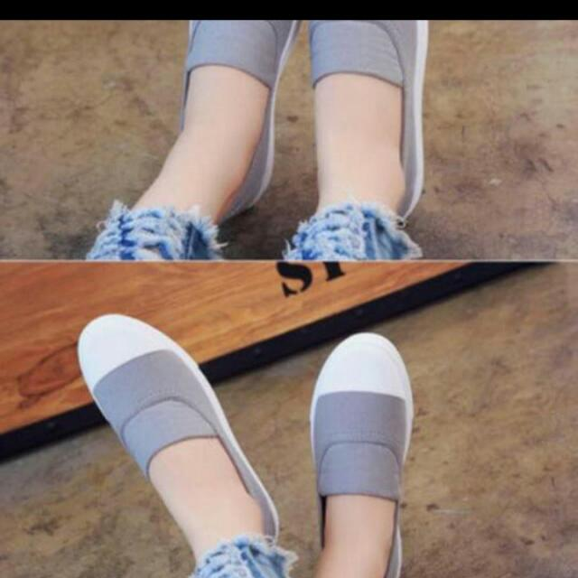Slip On Shoes (gray)