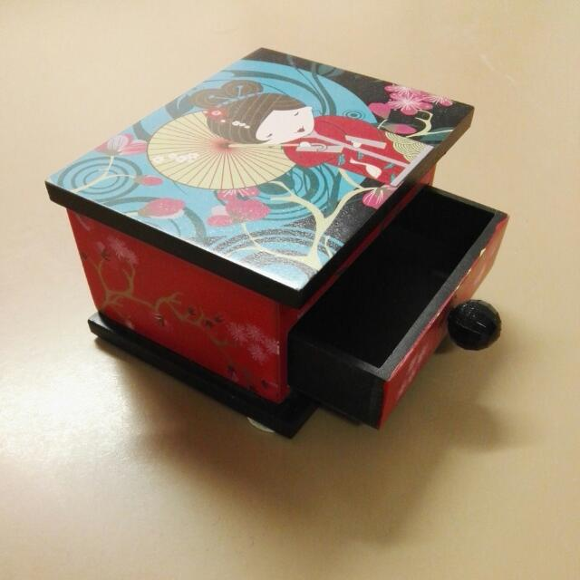Small Jewellery Box With Cute Decorations