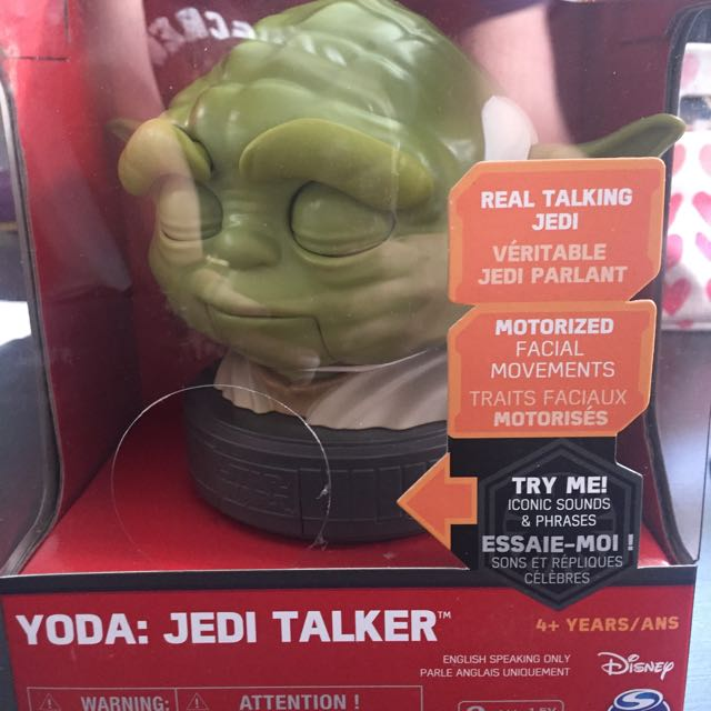 Today: Jedi Talker
