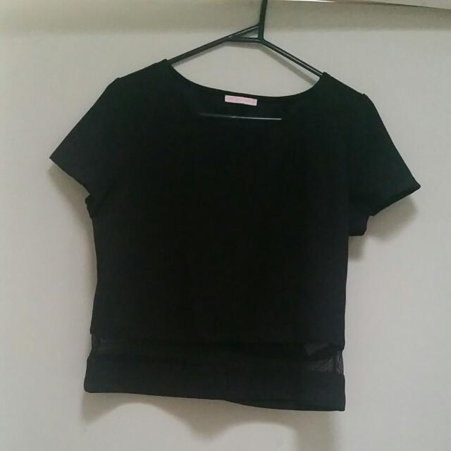 Top With Mesh