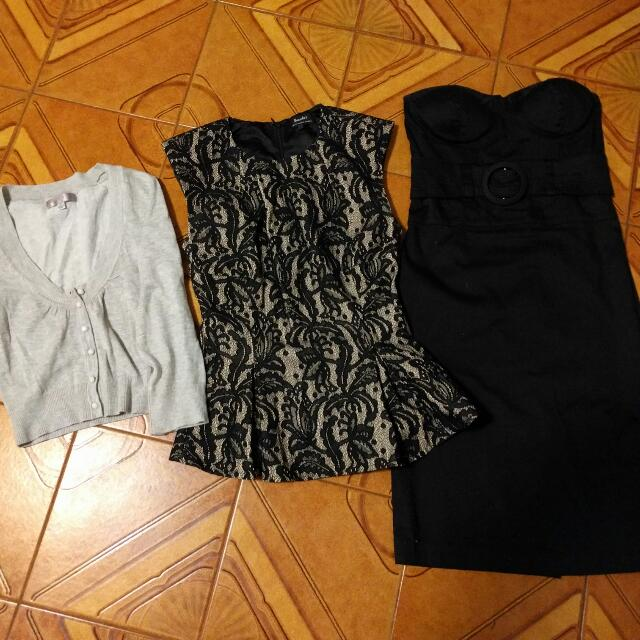 Various Tops And Cardigan Great For Work