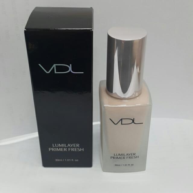韓國VDL 最新貝殻提亮妝前乳(粉色清爽型)