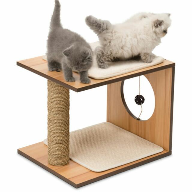 Vesper Cat Furniture V Stool Pet Supplies On Carousell