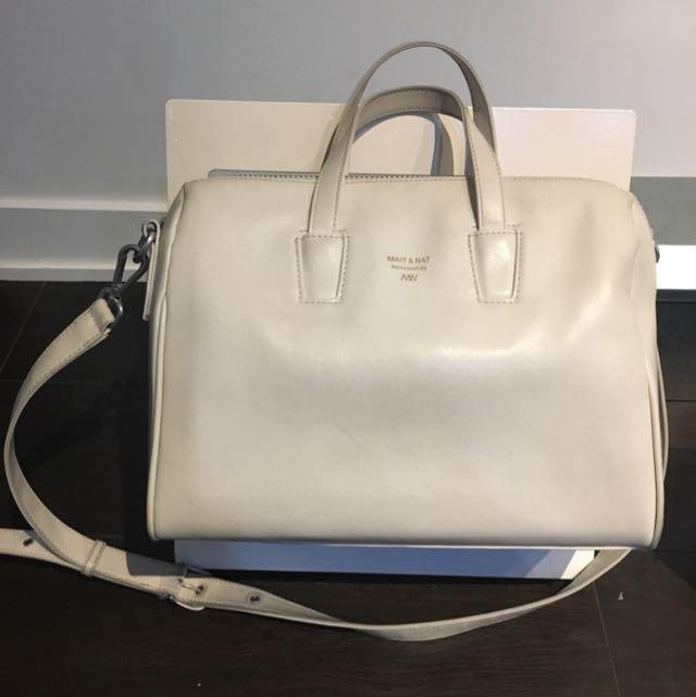 Off white MATT & NAT bag