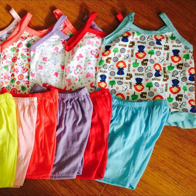 6pcs TERNO SANDO SHORT FOR BABY GIRL