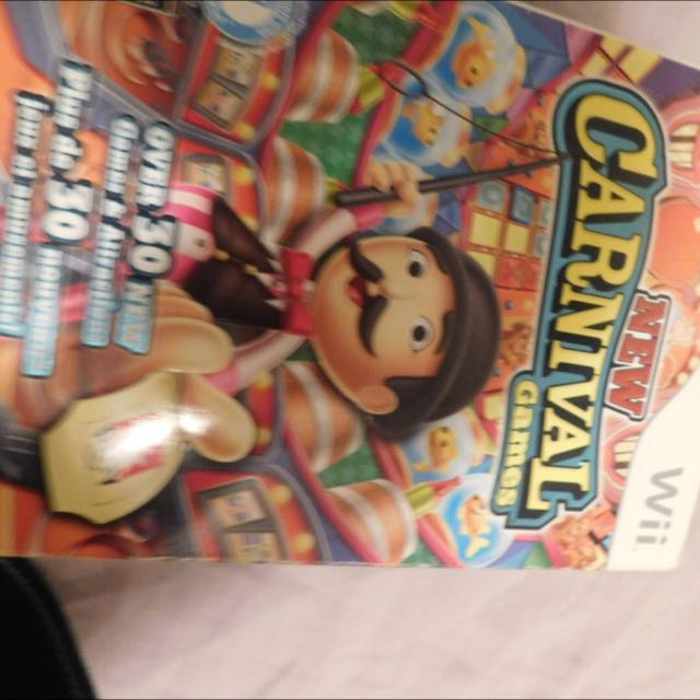 Wii Carnival Game