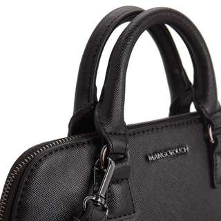 Mango Saffiono Black Shoulder Bag