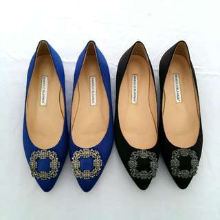Mano** Blahnik Flat Shoes