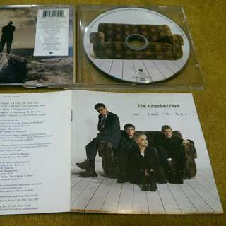 The Cranberries - No Need To Argue CD not lp vinyl records