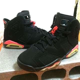 Nike Air Jordan 6 Retro Infrared GS / aj6 / 大魔王 / Bred
