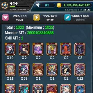 Monster Warlord Asia Account