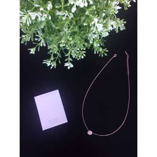 Taju Rose Gold Necklace
