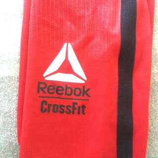 Red reebok Compression Pants Size Small