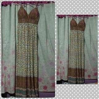 Pre Love Long Floral Dress