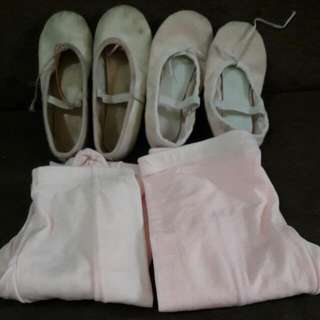 Ballet Shoes and tights