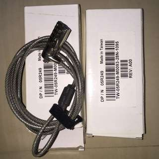 Targus Defcon Cl Notebook Computer Cable Number Lock Selling @ S$29.90