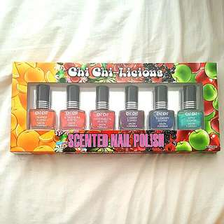 Brand New Chi Chi Scented Nail Polish