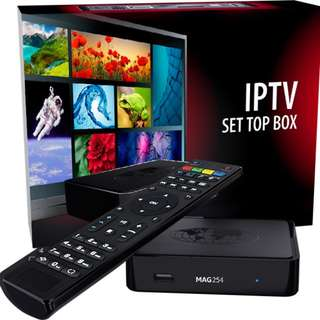 Mag 254 - The best iptv box in the market