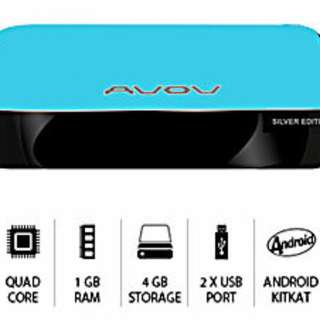 Avov IP TV online Silver edition- The best Android box