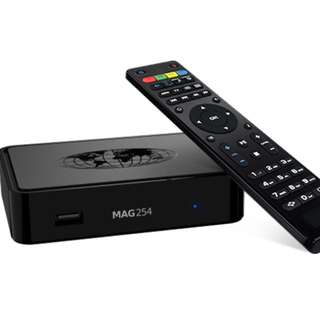 Mag 254 IP Tv Box with inbuilt Wi-Fi - In stock - latest from Infomir