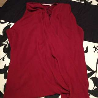 reduced *maroon tank top
