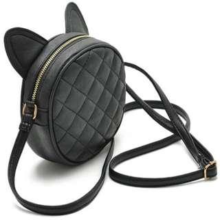 🆕 Leather Mini Messenger Bag