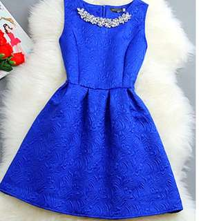 NEW DRESS size 8-10 and12 - ROYAL BLUE