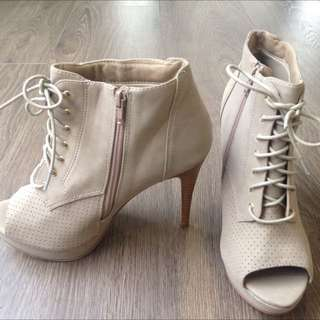 Ankle Boot Beige