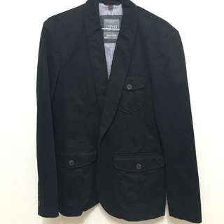 ESPRIT黑西裝外套M號