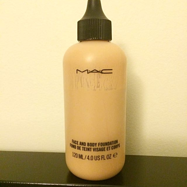 120ml MAC Face And Body Foundation