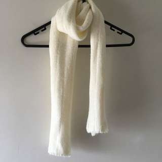White(cream) Scarf