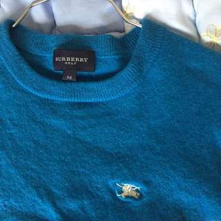 Burberry Golf sweater (for kids!)