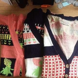 Sweater Motif Lucu
