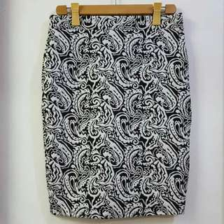 +Size Pencil Skirt