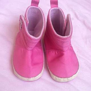 Repriced! Crib Couture Pink Boots