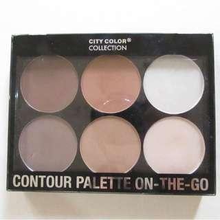 PRELOVED City Color Contour Palette On-The-Go
