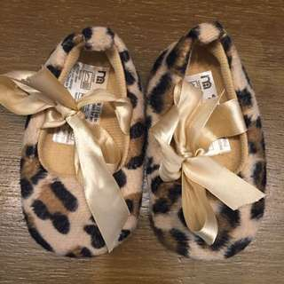 Mothercare Leopard Baby Shoes