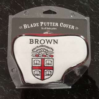 Putter Cover with Brown University Logo (Brand New)