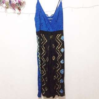 Dress Pendek Batik