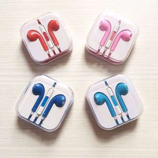 Headset Iphone Warna Warni