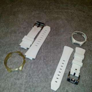 Authentic technomarine watch strap and cover (silicon)