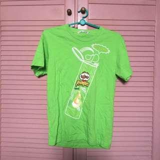 Green Pringles Top
