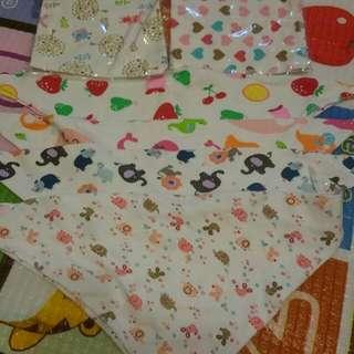 雙層棉口水巾