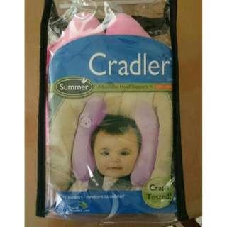 可調式寶寶頭部枕.安全坐椅枕.香蕉枕