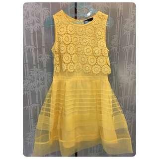 YELLOW DRESS SZ 1