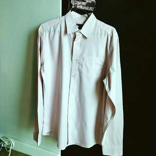 Pink Gap Long Sleeves Dress Shirt