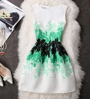 [PO] – *Classic* Assorted Floral Print Dress